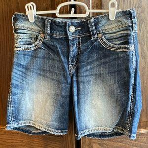 Silver Jeans Suki Surplus Short W27